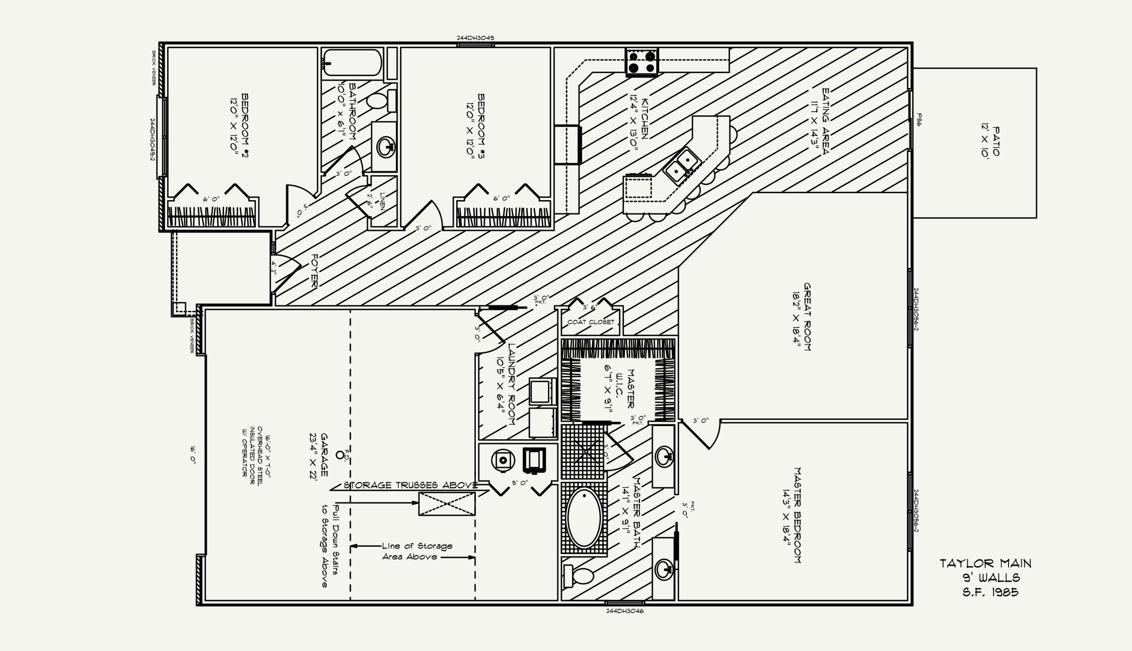 Taylor Floorplan