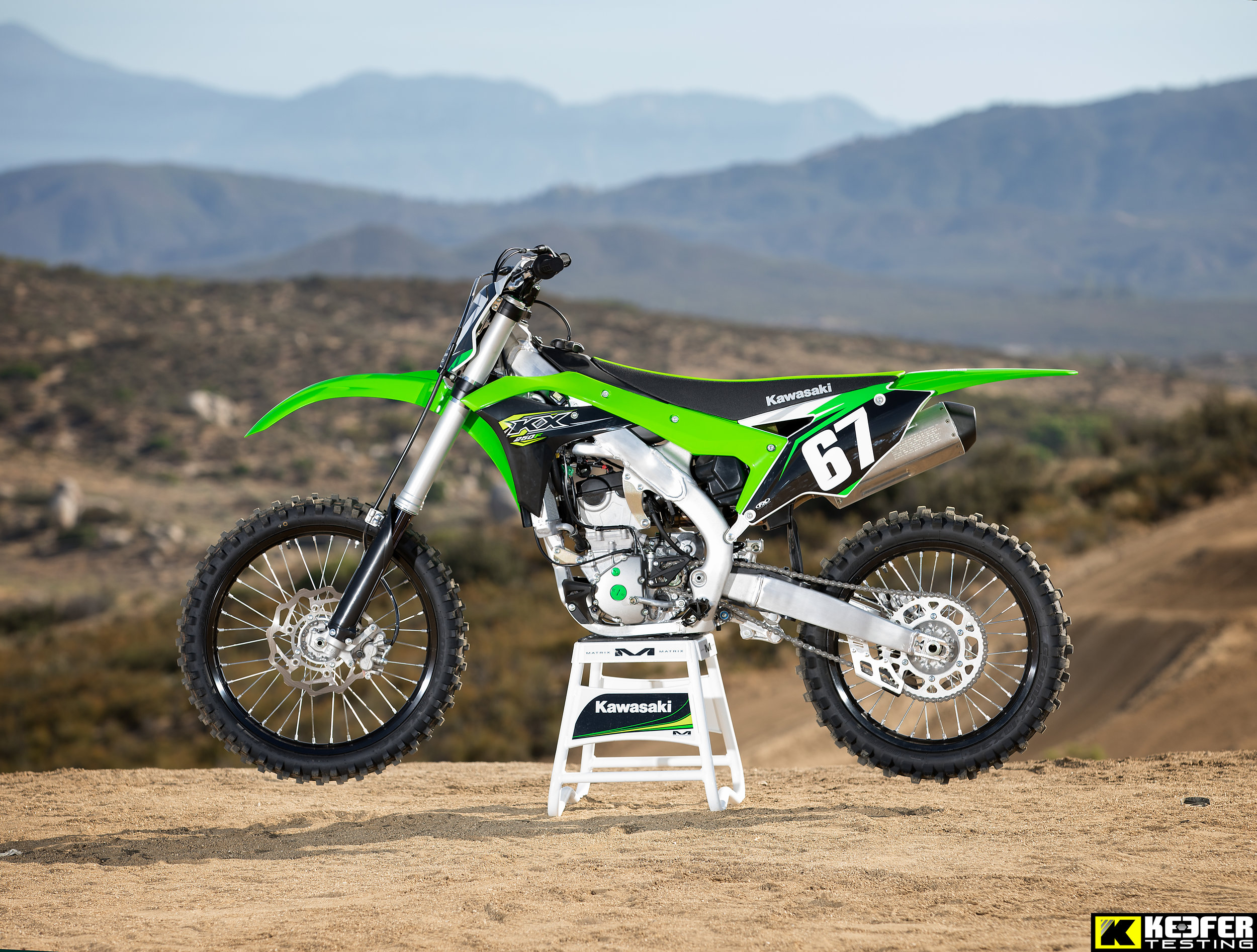The 2018 Kawasaki KX250F has been refined mostly in the engine department.