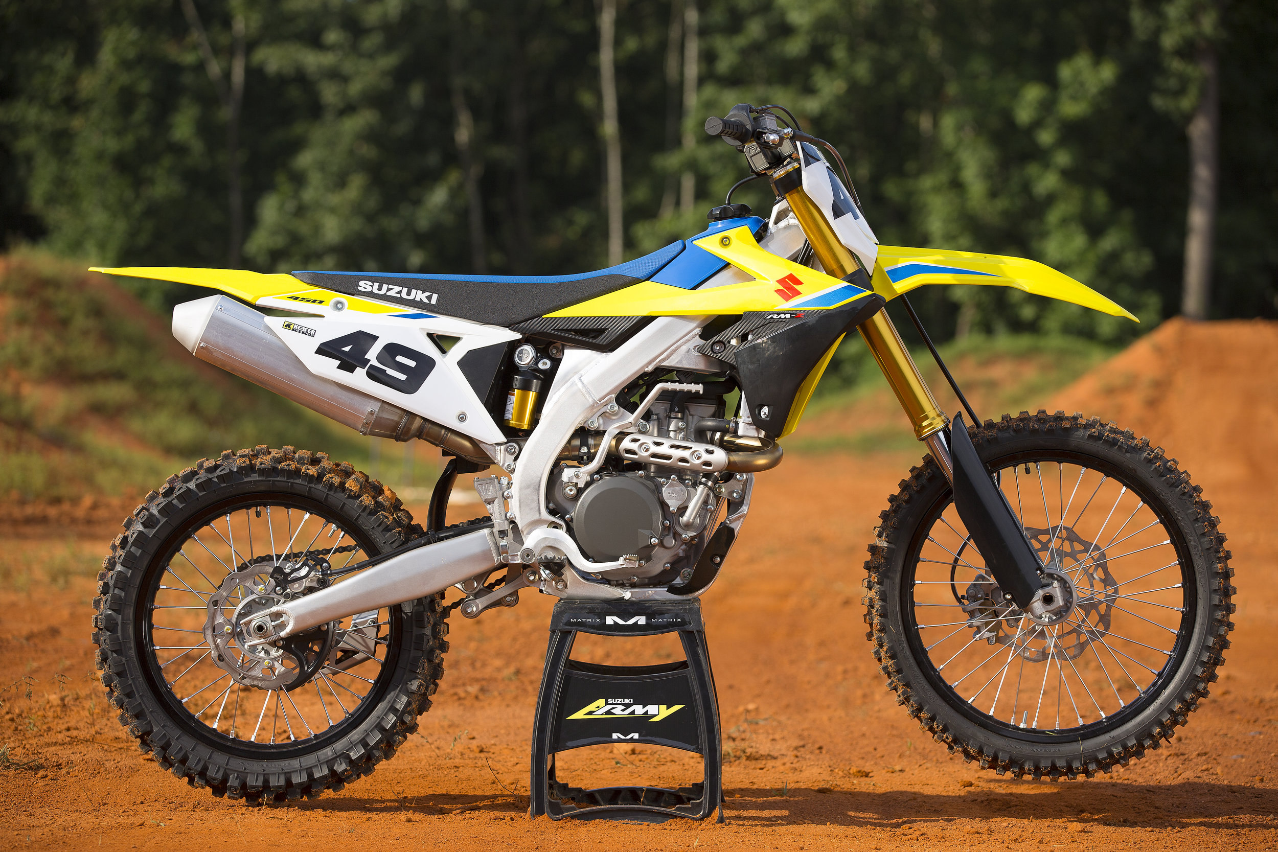 The new 2018 Suzuki RM-Z450