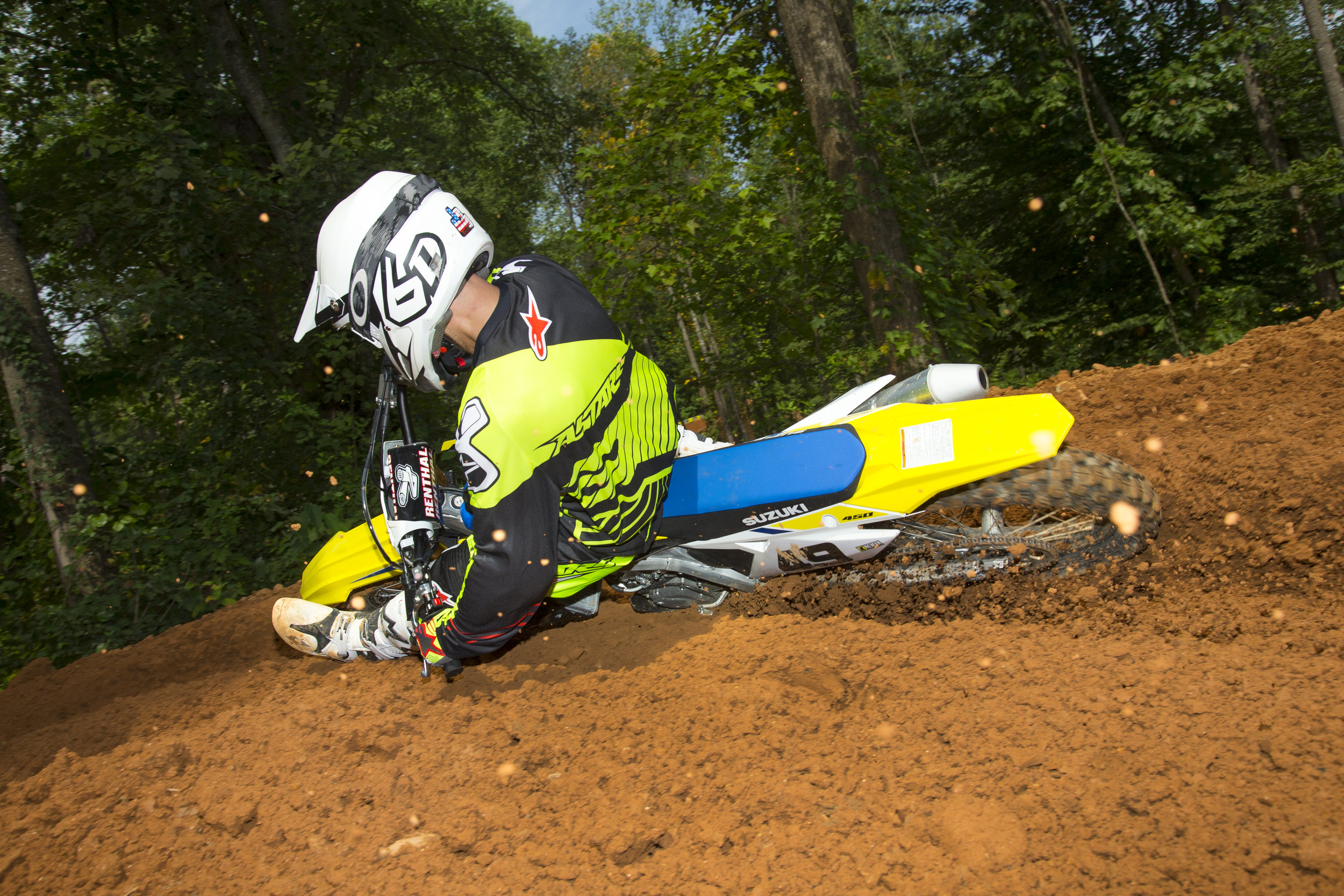 Yes, the Suzuki can still carve a corner like no one else.