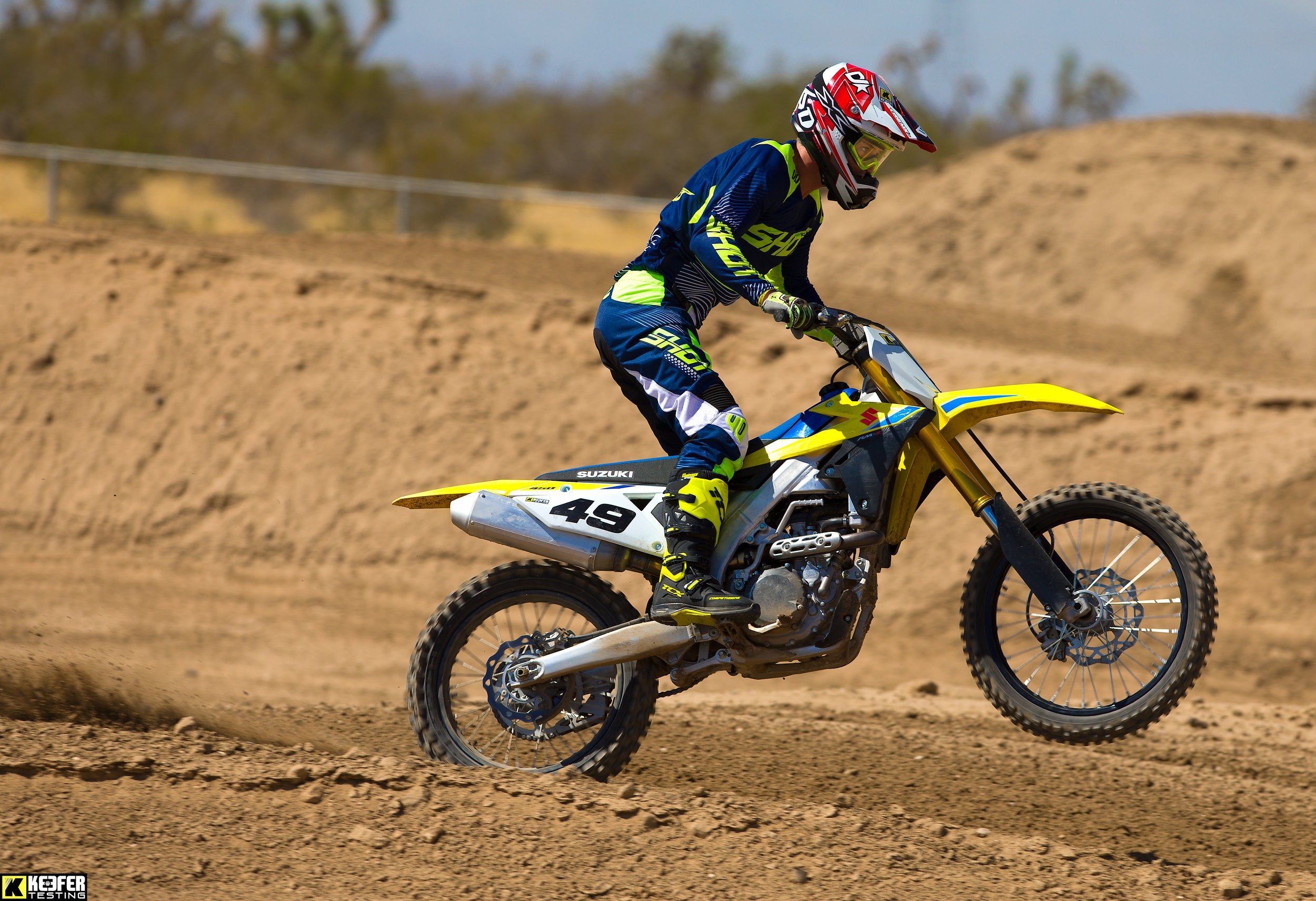Colton Aeck has come from a broken back to ripping a motorcycle in less than eight months.