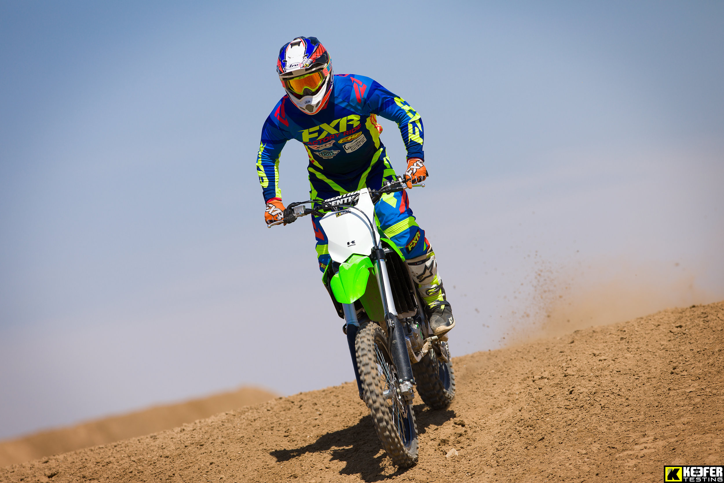 Our novice test rider Matt Sirevaag loved the Kawasaki and its chassis feel.