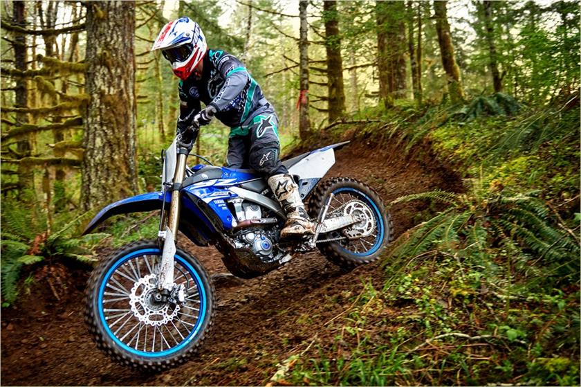 We will be trying the 2018 YZ450FX in some of these types of conditions when GNCC rolls around.