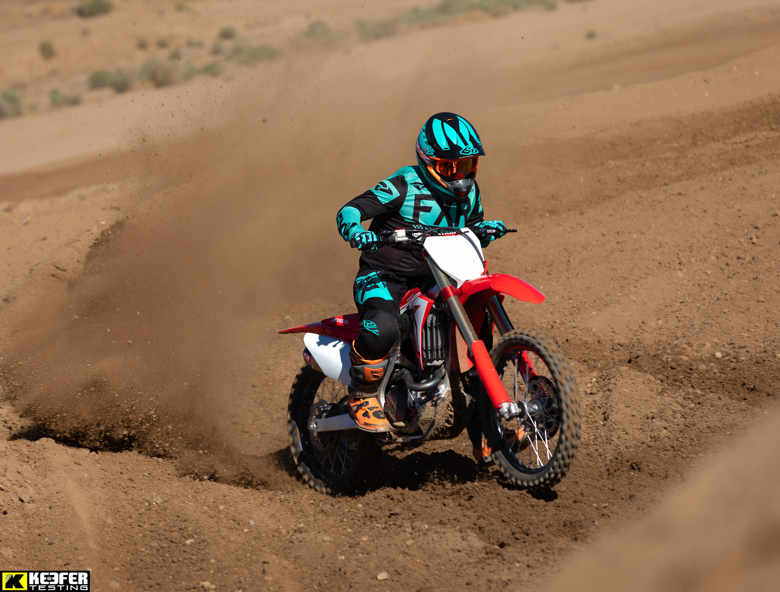 """Matt Sirevaag is your average dirt bike fanatic. He works overtime just so he can purchase extra """"goodies"""" for his 2019 Honda CRF450R. He is only """"allowed"""" (you married guys out there know what I am saying) to buy stuff for his bike if he makes extra cash. Matt works side jobs and puts in OT just so he can get his bike just the way he likes it. To me this is a real world test because of the test rider that has written it.    -KK"""