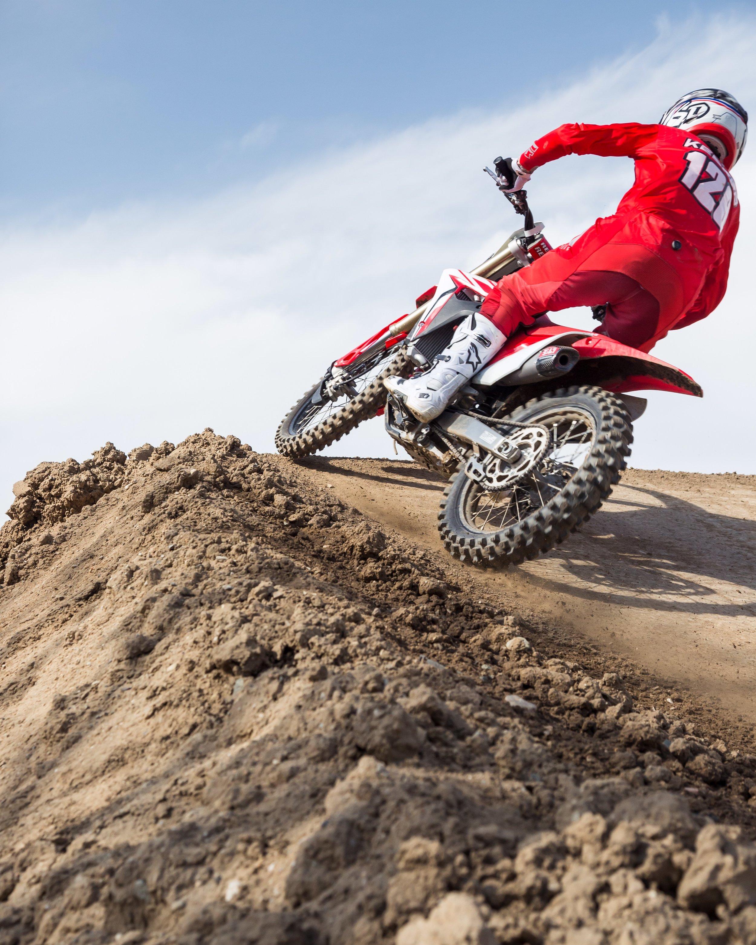Honda — Bike Testing — Keefer Inc  Testing