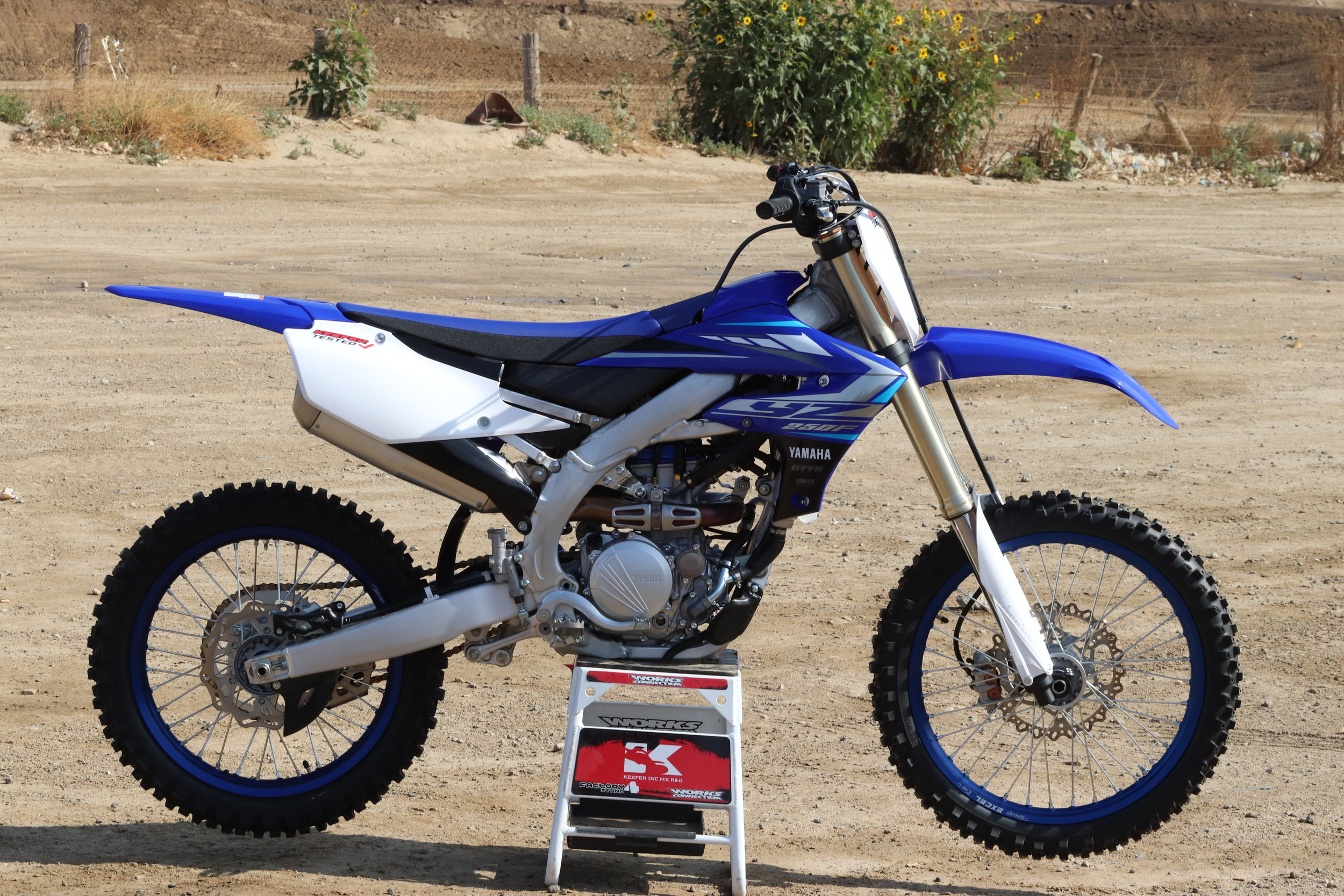 Yamaha — Bike Testing — Keefer Inc  Testing