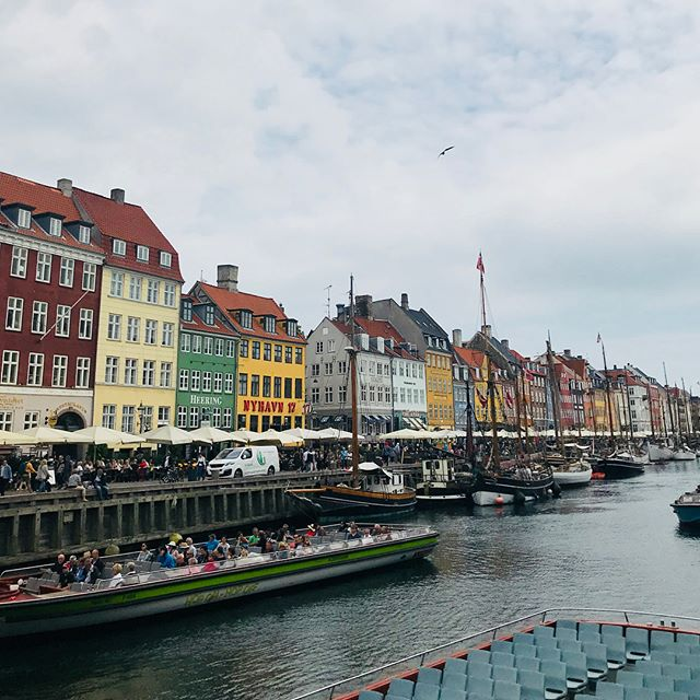 Copenhagen has been great. One of the cleanest cities I've ever visited. The people all speak English and are as nice as can be. Plus, I can't complain about the incredible  75 degree weather here, was a nice break from the Venice heat. Off to Sweden and then Hungary!! #copenhagen #denmark #denmark🇩🇰 #travel #europe (Anyone else notice the crazy similarities between the Venice canal in my earlier posts and the Copenhagen canal??)
