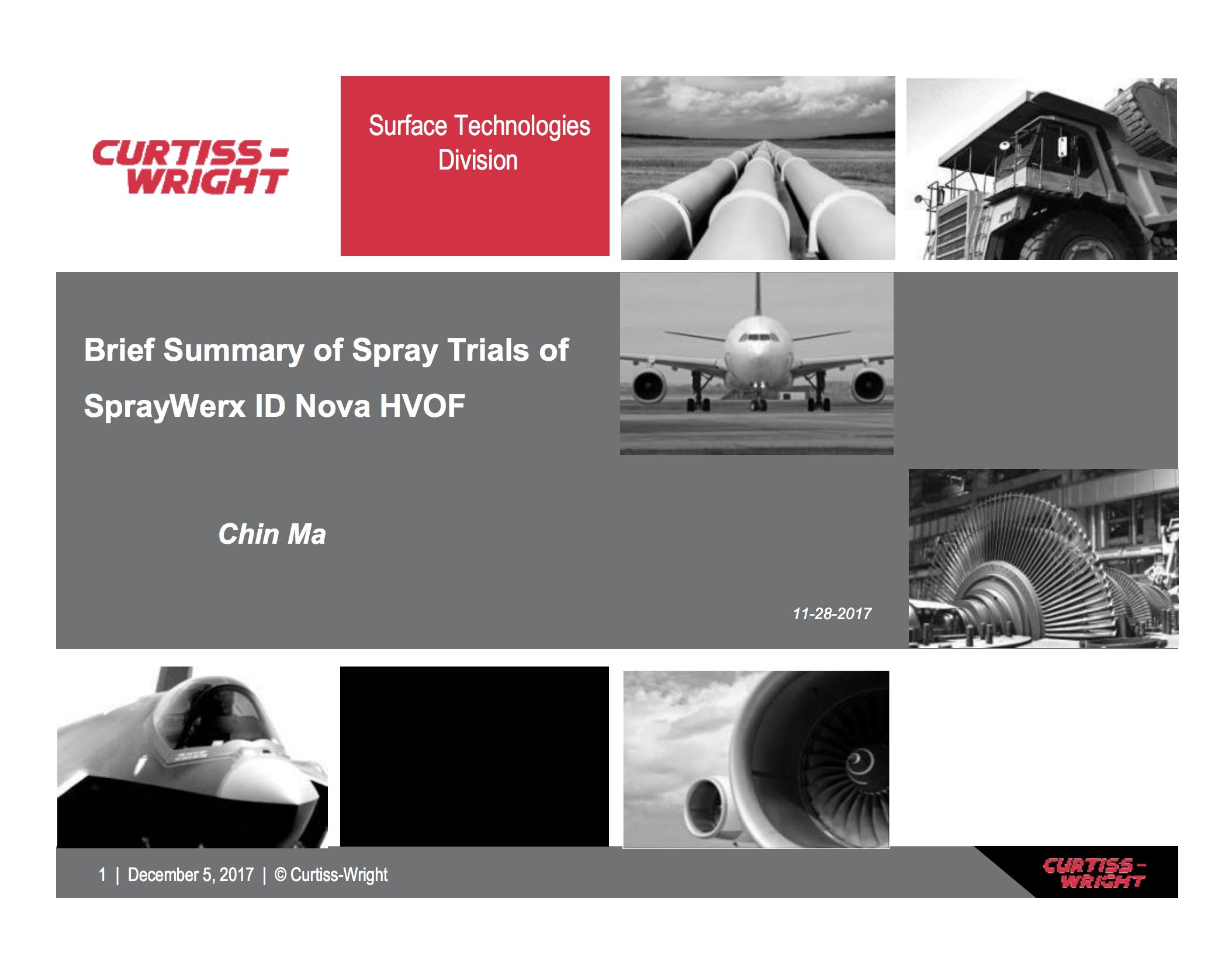 Curtiss Wright-Spraywerx
