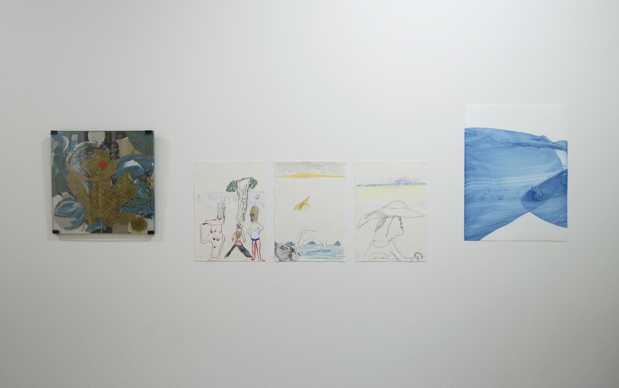 Colby Cannon Welsh / Janne Räisänen (3 drawings) / Tanja Hehmann