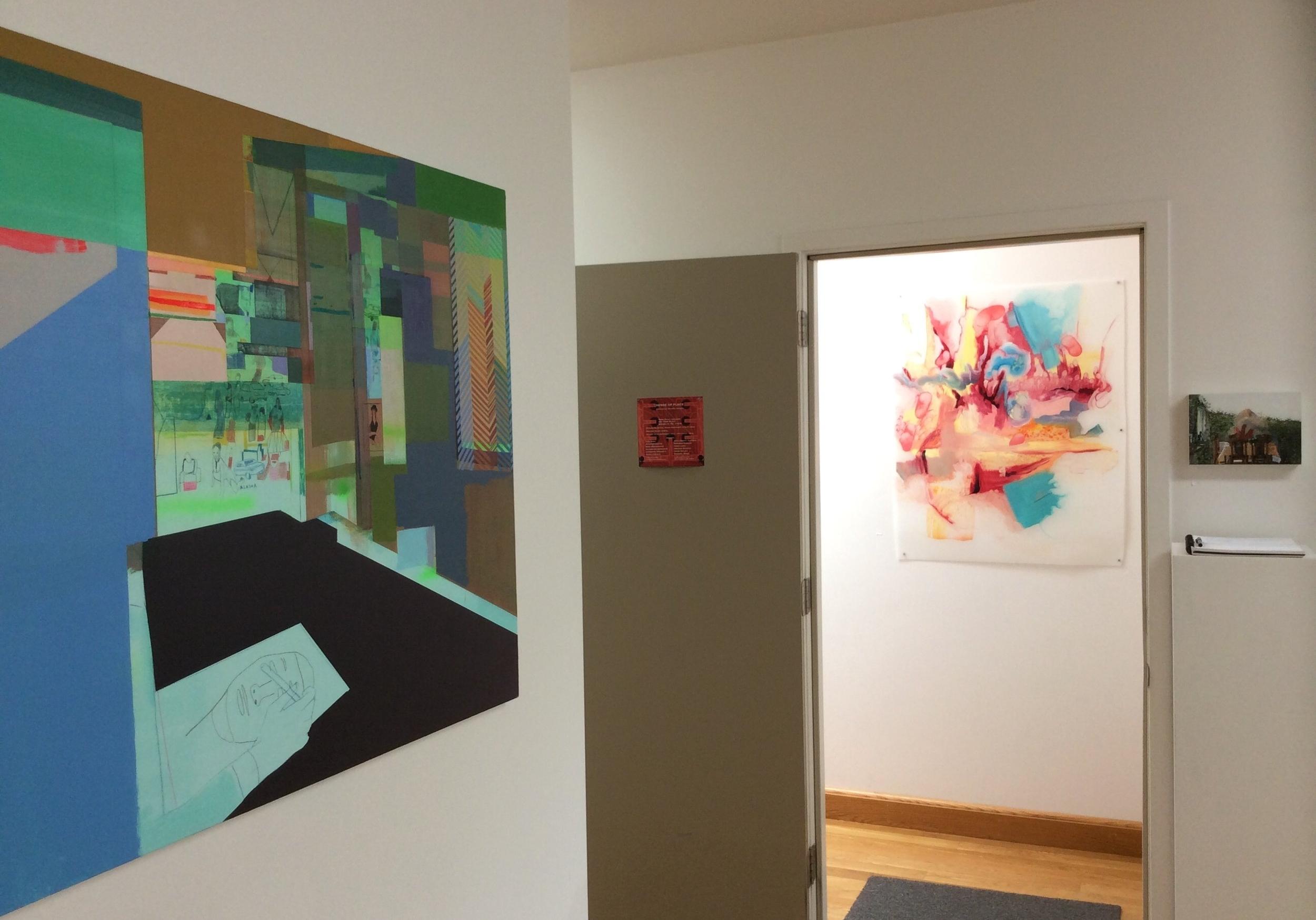 Kristen Schiele: Dreamboards, April Zanne Johnson: Entheos (Blue), Emma Tapley: Window, Ireland