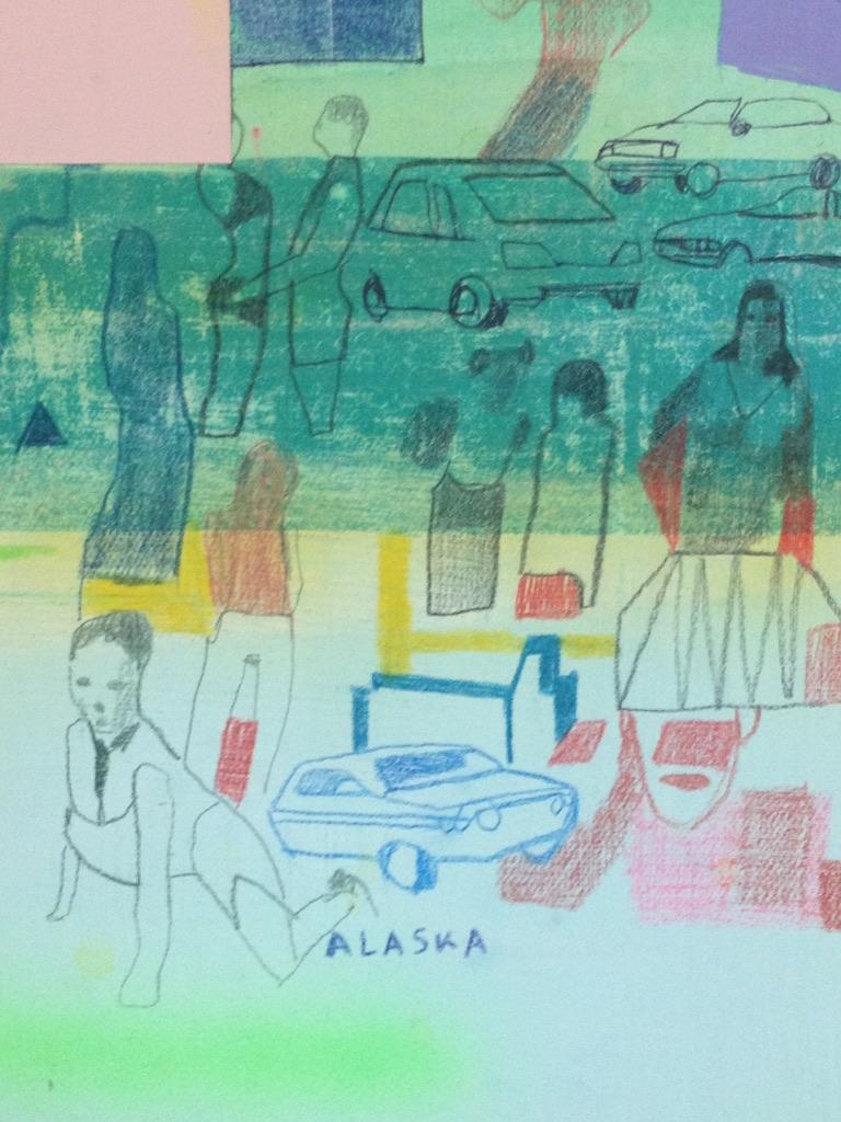 Kristen Schiele: Dreamboards (detail)