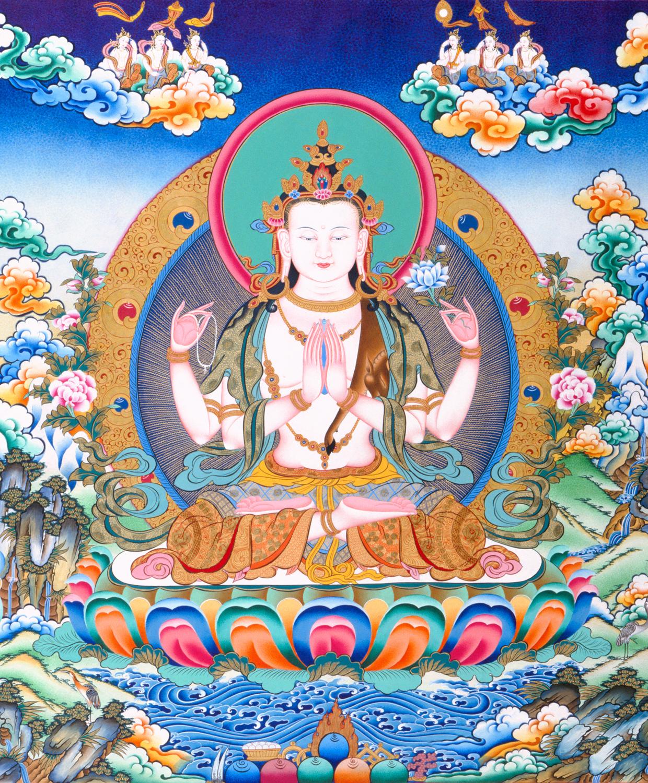 Buddha of Compassion.
