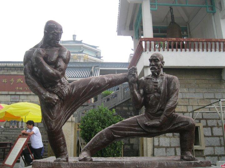 Shaolin Temple Statue