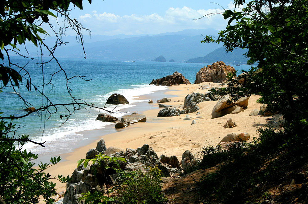 Our favorite beach next to Xinalani
