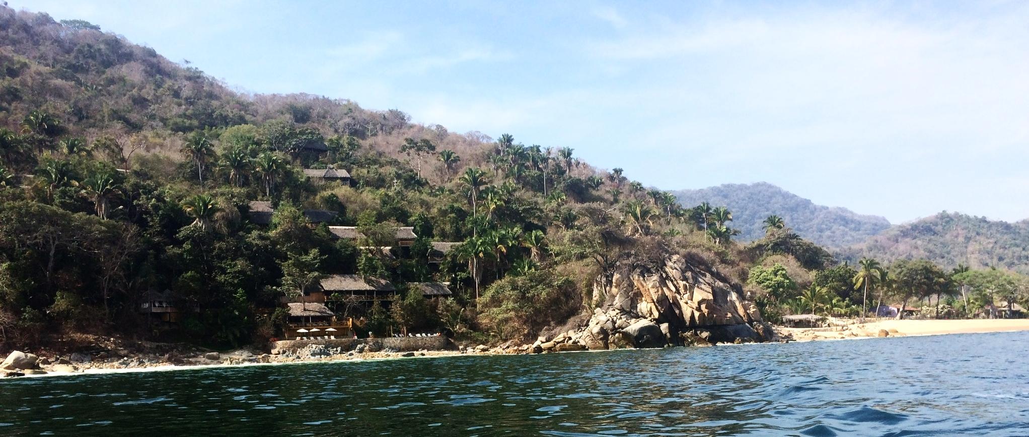 Xinalani from a boat