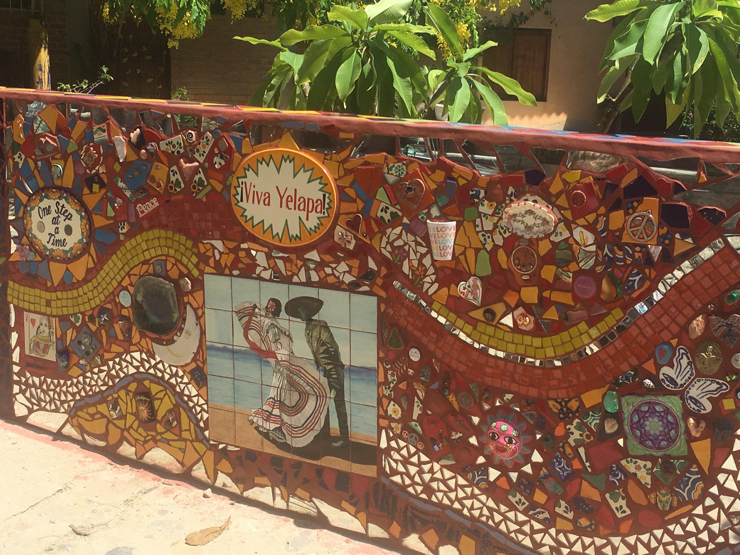 Yelapa town art