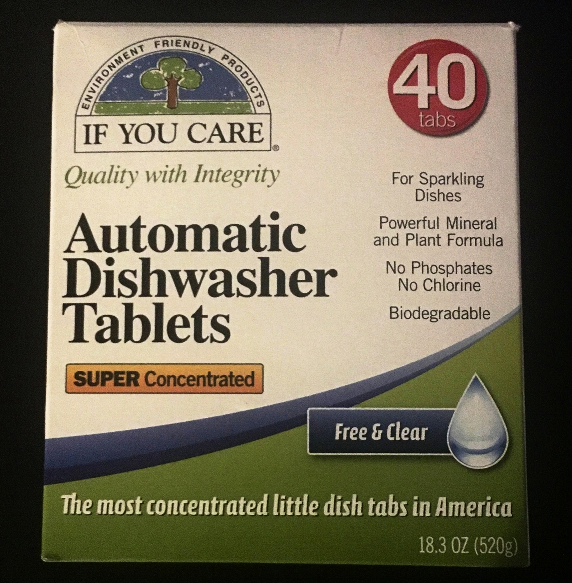 If You Care Automatic Dishwasher Tablets -