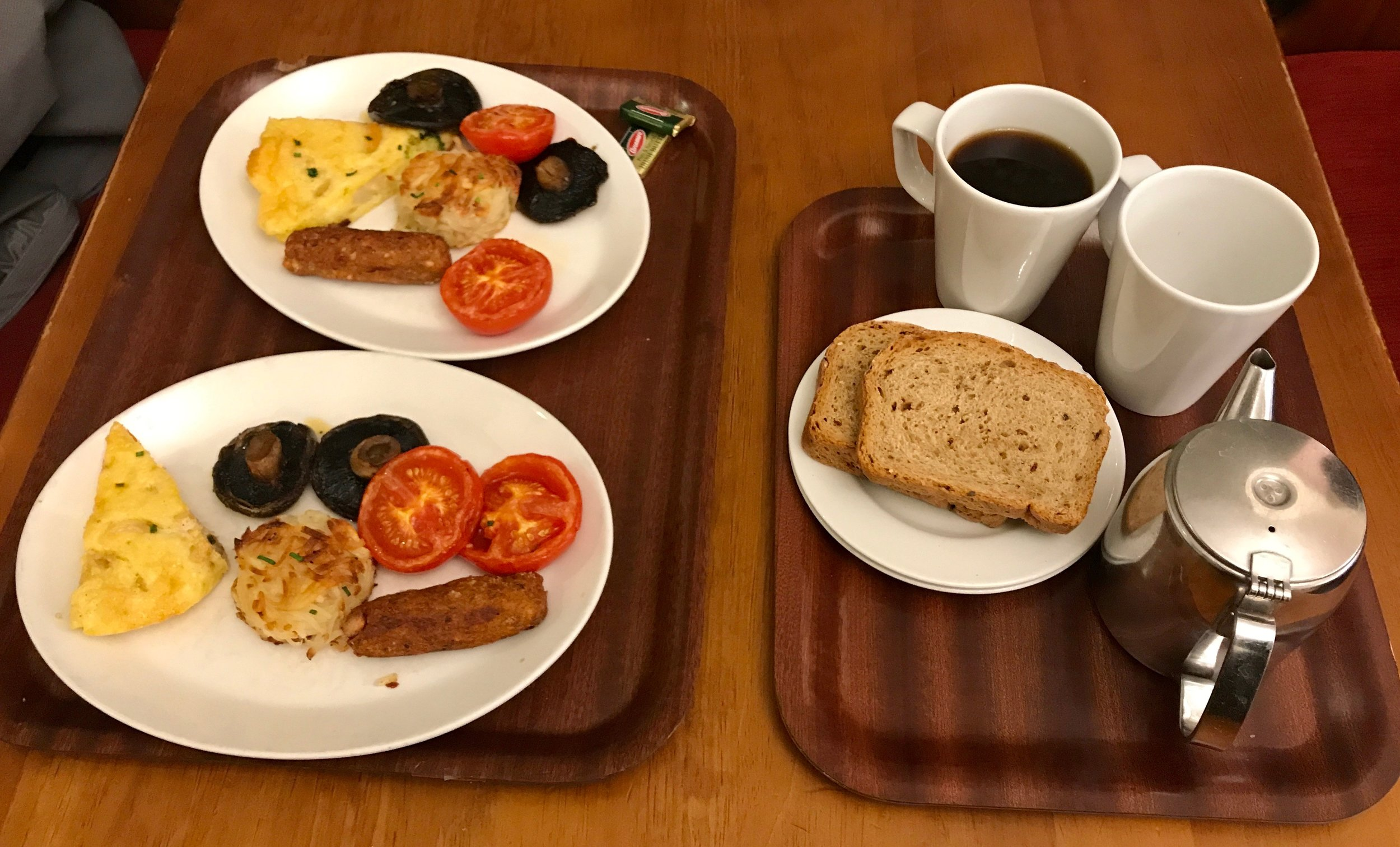 Two Five Item Breakfasts at Cornucopia Restaurant