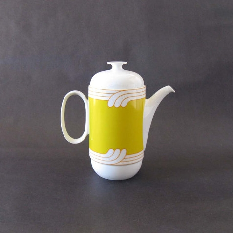 Ambrogio Pozzi Linea Duo Exotic Coffee Pot - 1968 ($65) -