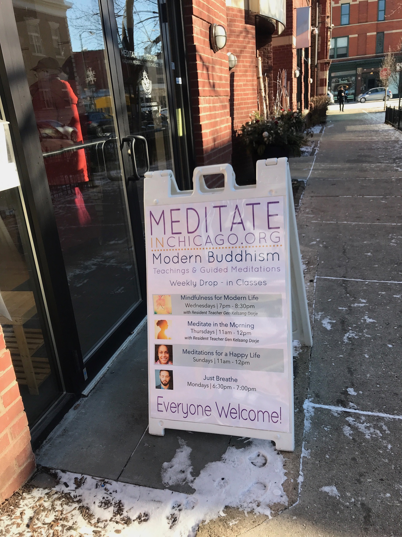 Kadampa Meditation Center in Wicker Park, Chicago, IL