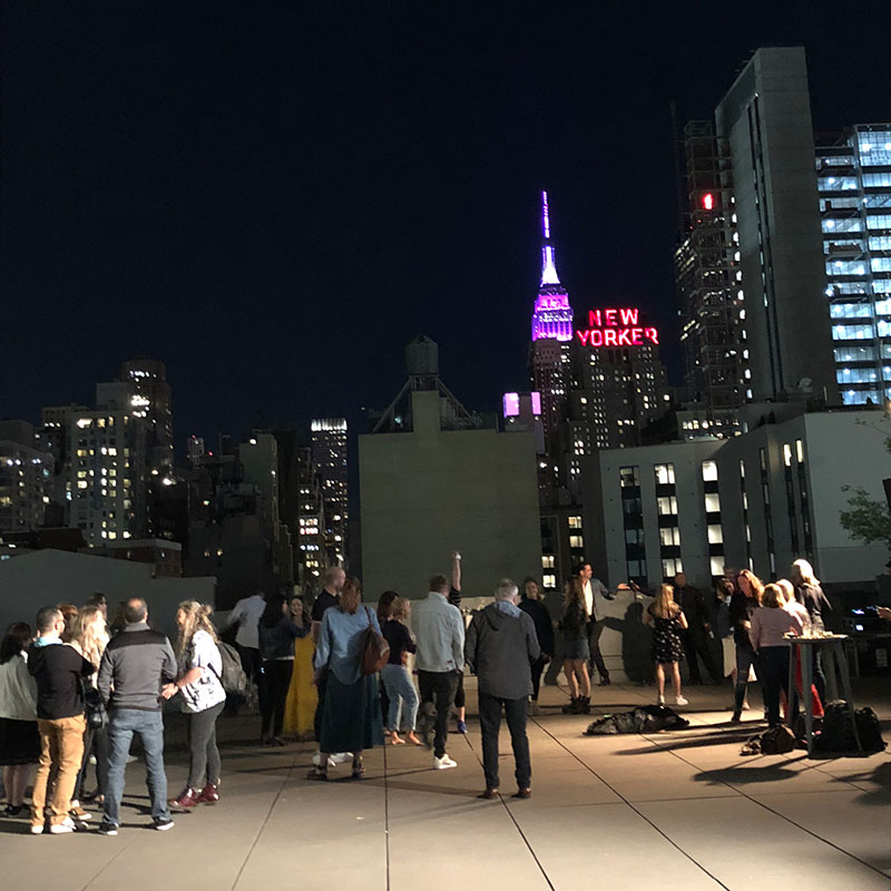Blue Print rooftop after party!