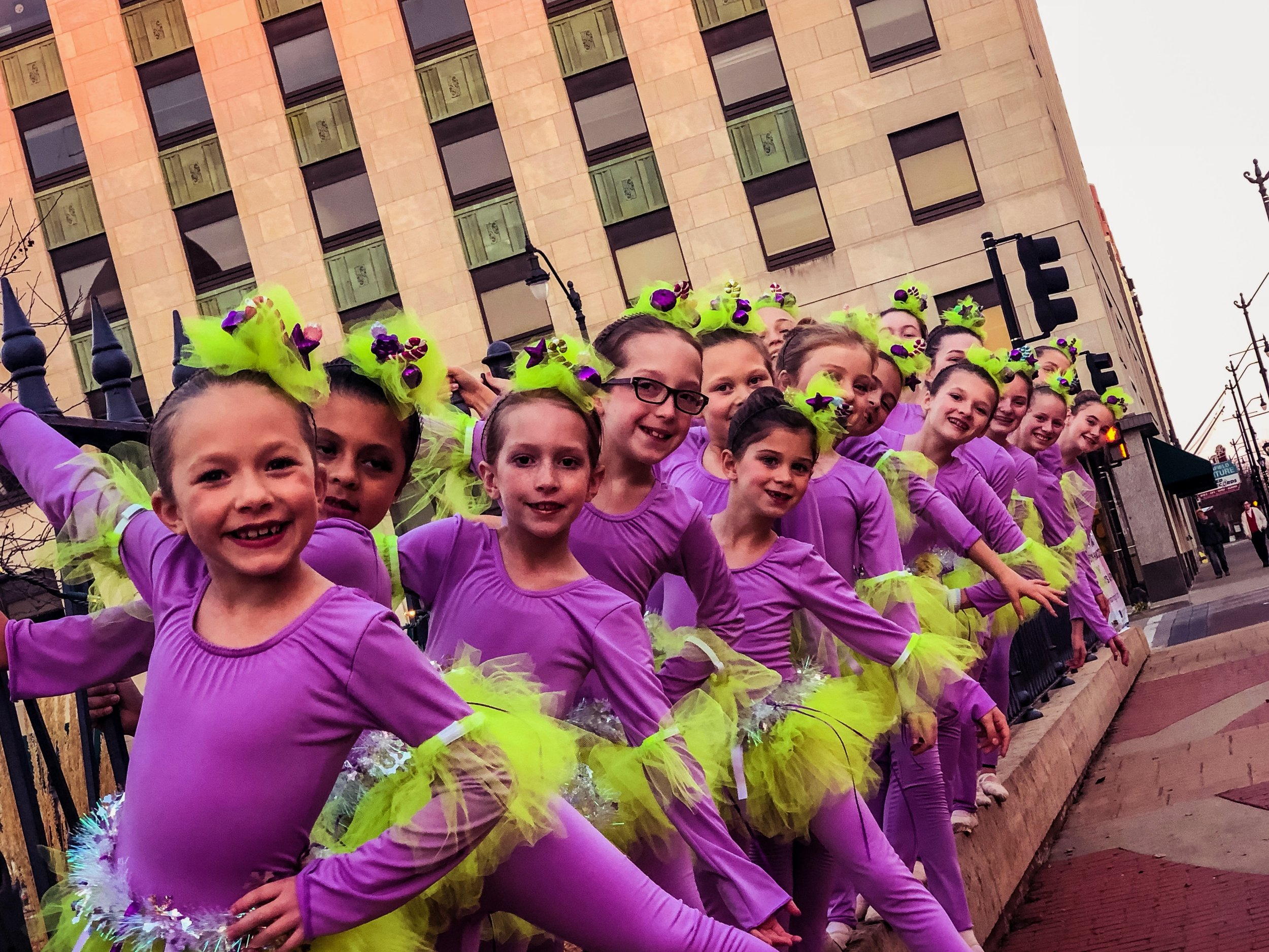 We give our dancers the opportunity to perform as a give back to our beautiful community -