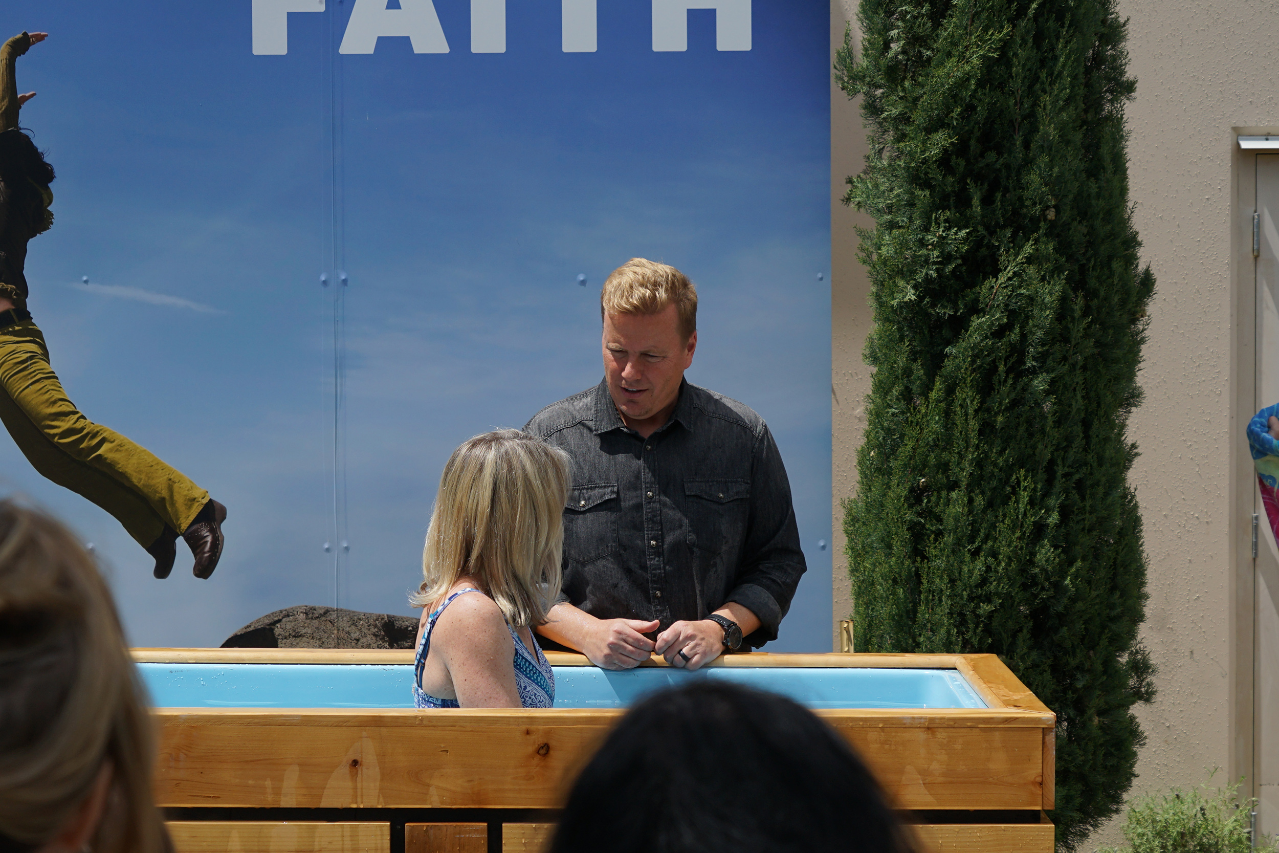 BAPTISM & CHILD DEDICATION - If you are interested in getting baptized or having your child dedicated, please contact Will Derryberry.