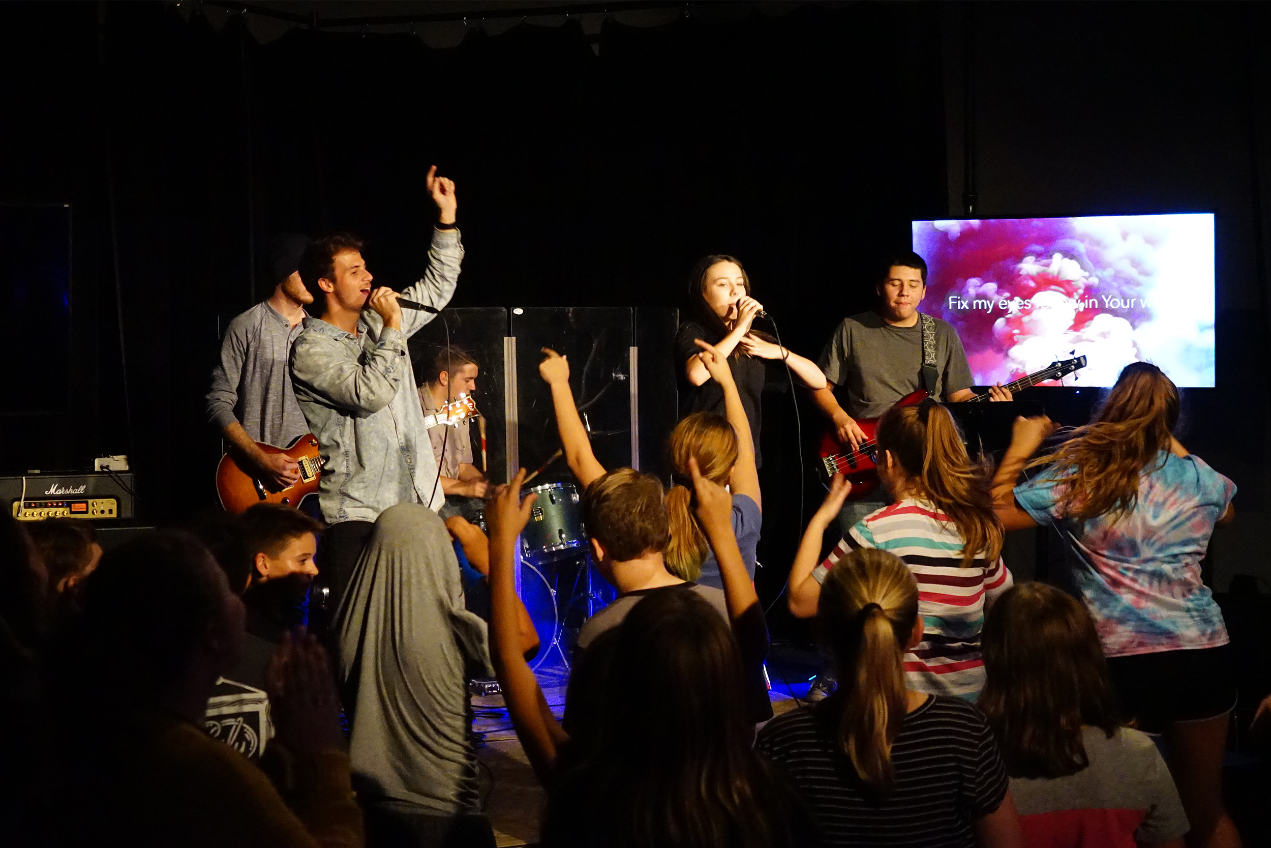 ELEVATE YOUTH MINISTRY - Elevate Youth is for students in 6th - 12th grades. Elevate meets during the 11 am service. Elevate Youth also meets midweek on Tuesdays (Grades 6-8) and Wednesdays (Grades 9-12).