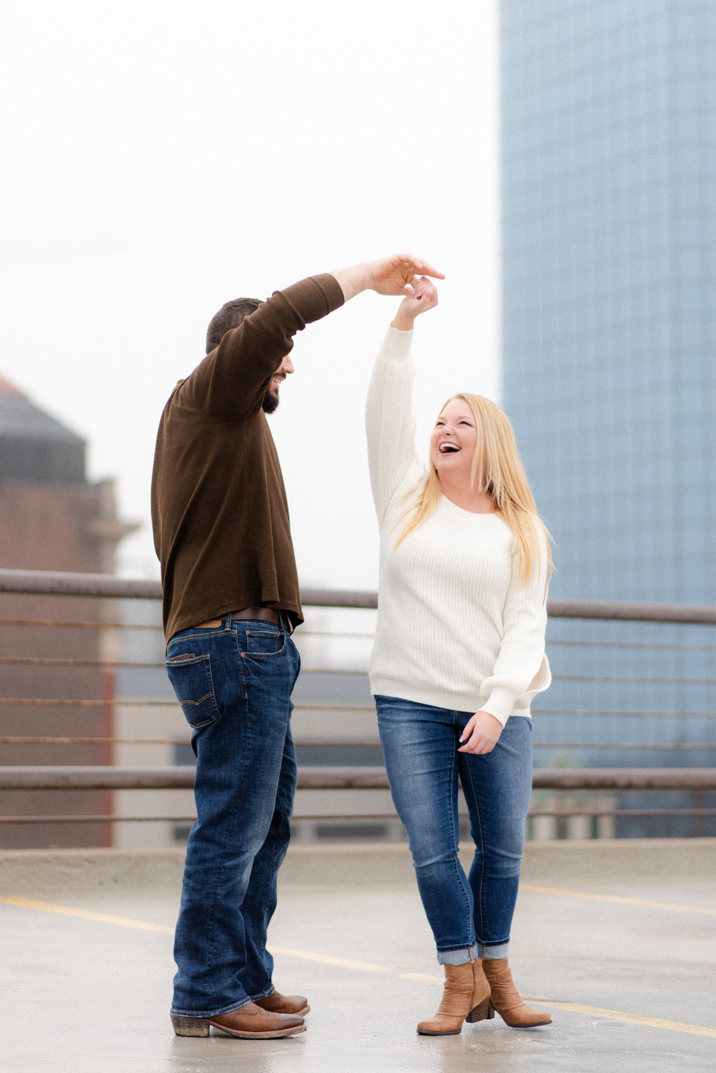 McKayla + Brody: A twirl is always a must! Again, you've gotta love those smiles!