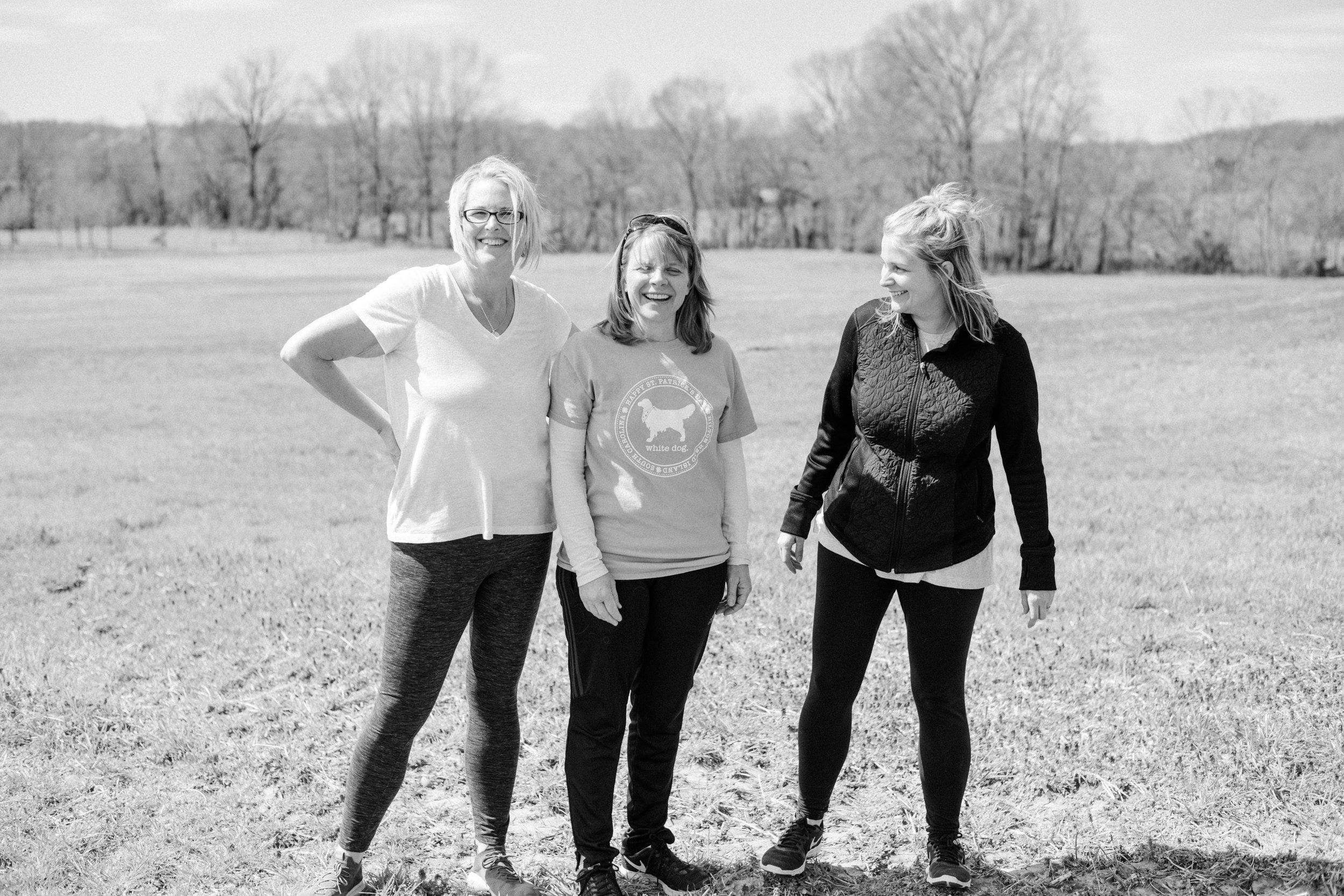 From left to right: Dori, Tara, and Kristin.