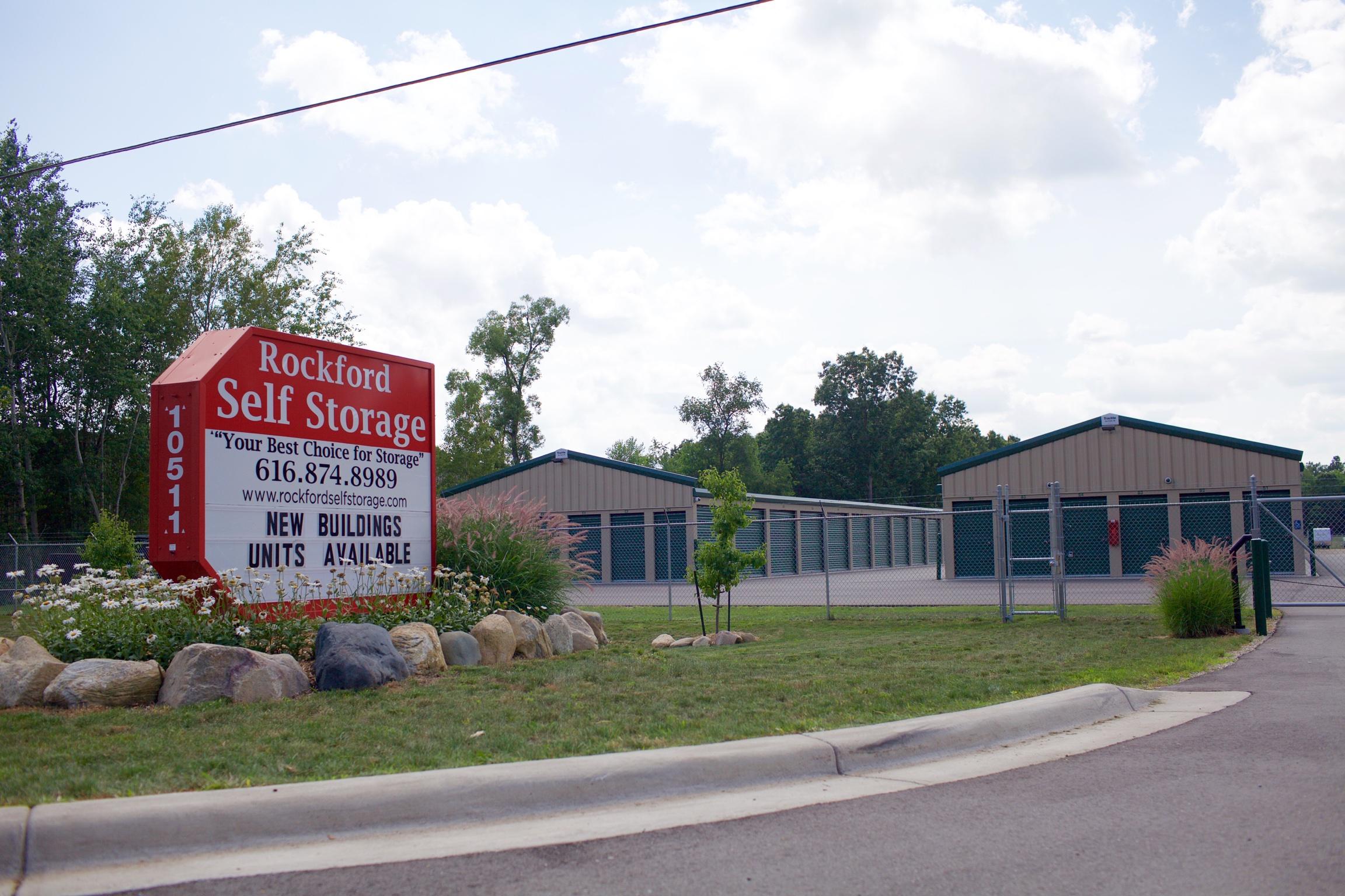 Rockford Self Storage North Location - 10511 Northland Dr NE. Rockford MI, 49341
