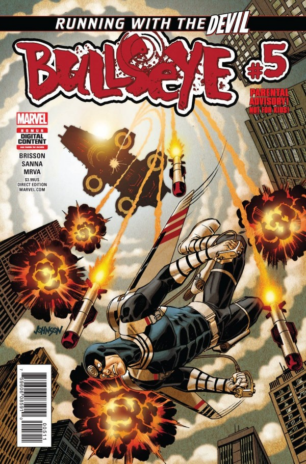 Bullseye - If you didn't read this arc... make better choices! Go get it right now!