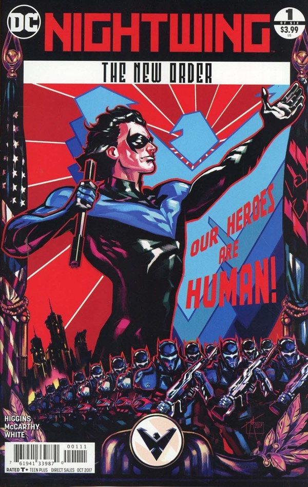 A.T.'s Pick - NIGHTWING: THE NEW ORDER #1 (By: Kyle Higgins / Artist:Trevor McCarthy)