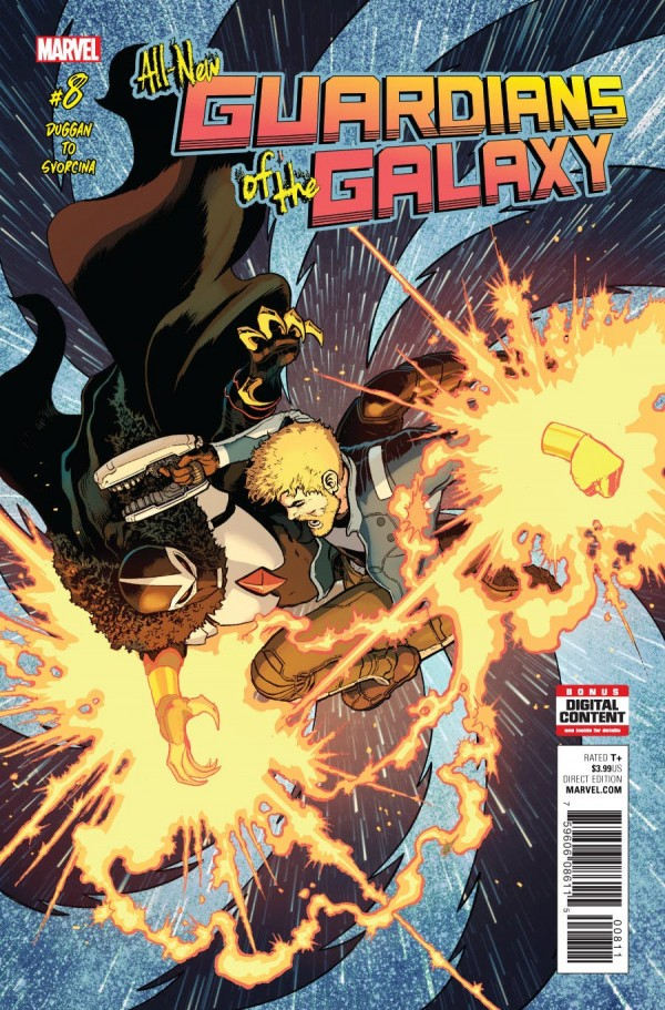 Heath's Pick - All-New Guardians of the Galaxy #8 (By:Gerry Duggan / Artist:Marcus To)*Heath is a week behind but this is still a great issue!*