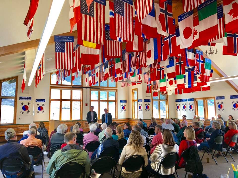 Town Hall with Sen. Bob Rankin in Steamboat Springs on May 13, 2019