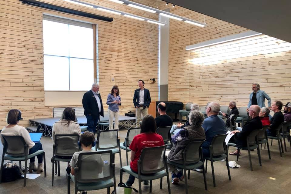 Roaring Fork Valley Town Hall with Rep. Julie McCluskie and Rep. Perry Will in Basalt on May 14, 2019
