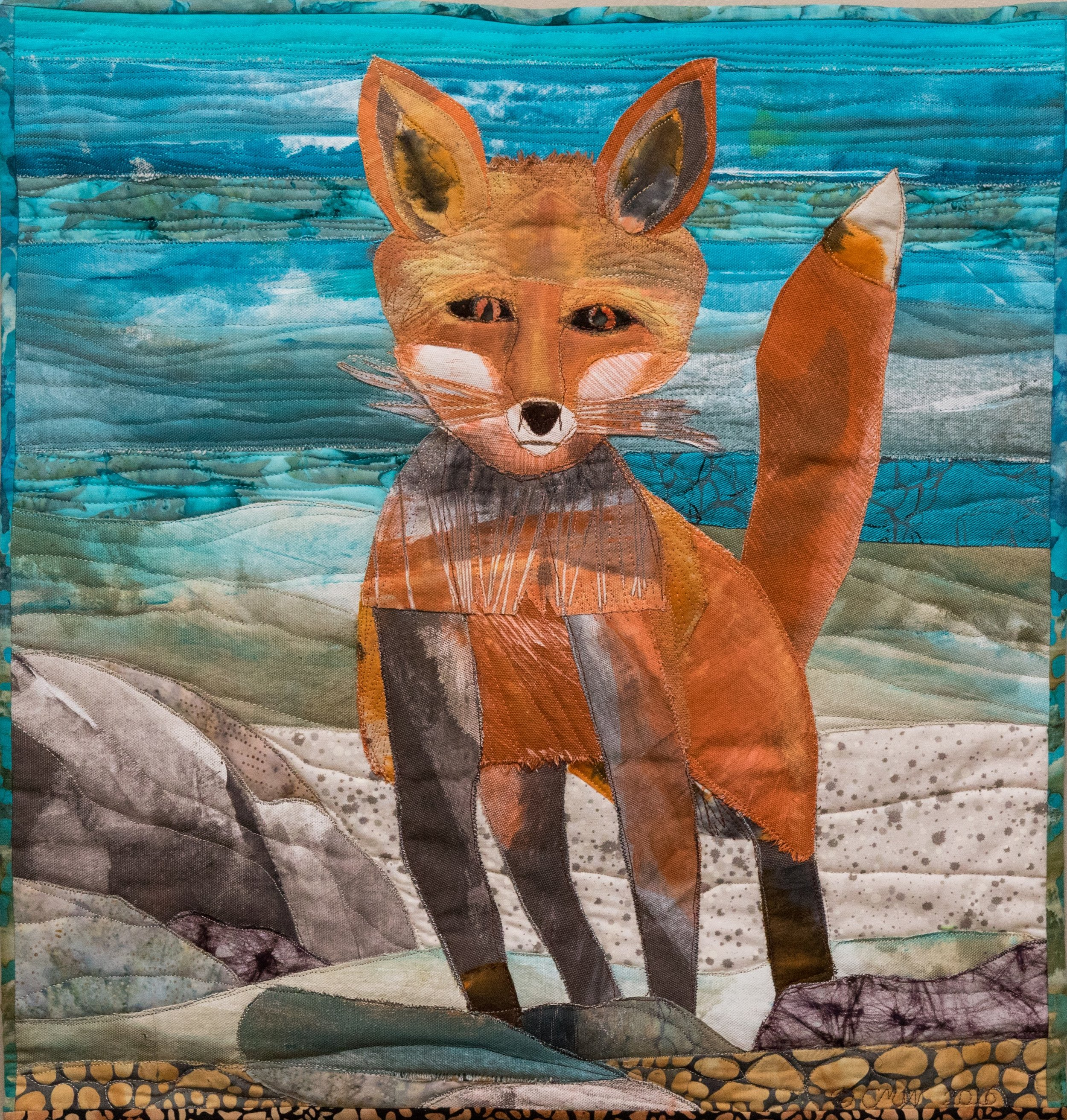 Fox By the Water