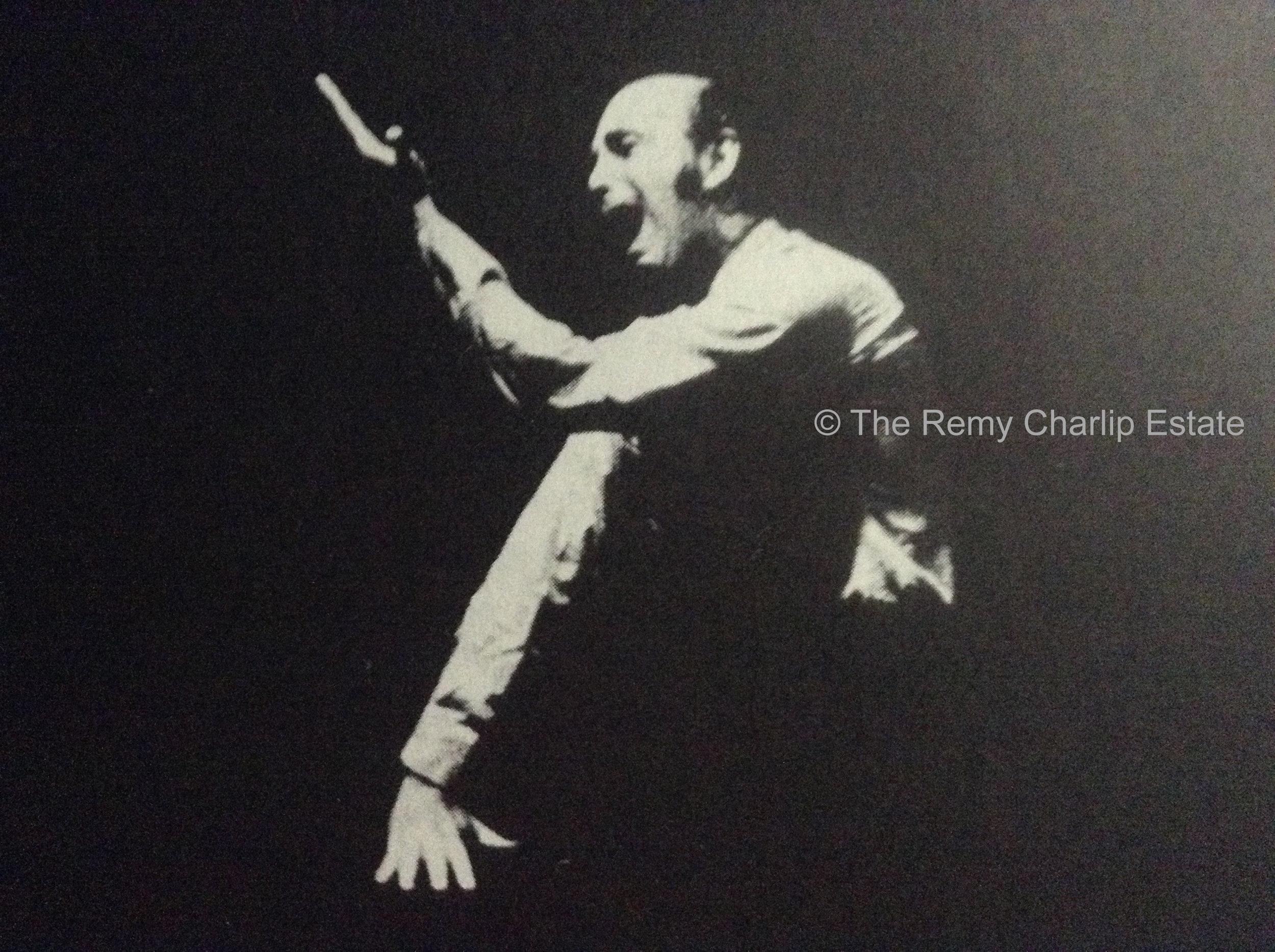 """""""Meditation"""" (1966-1991) Choreography: Remy Charlip; Performer: Remy Charlip"""