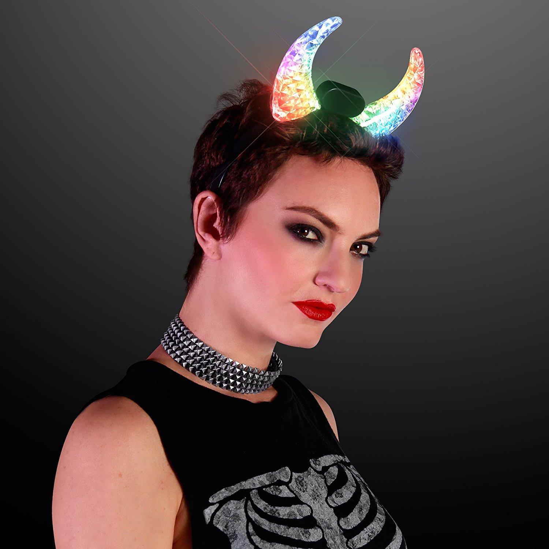 LED Horns for Burning Man