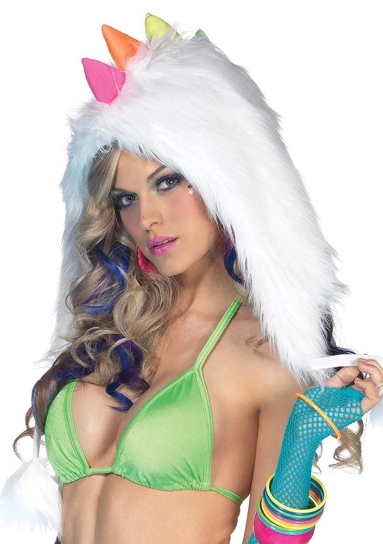 Furry Hood for Burning Man