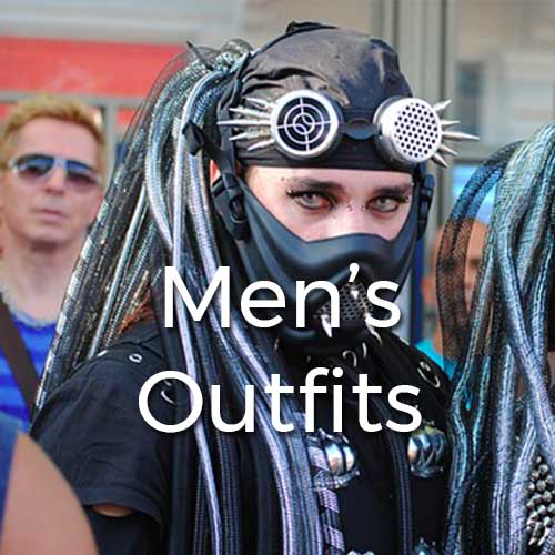 Men's Outfits for Burning the Man