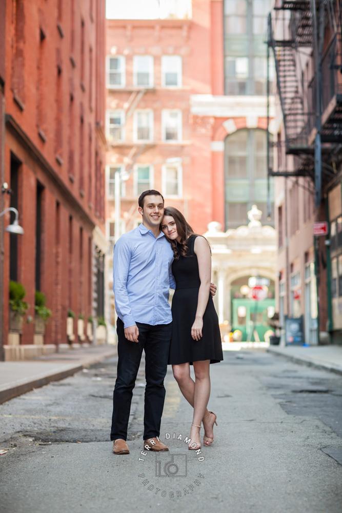 NYC, manhattan, engagement photography, engagement session, terri diamond photography,