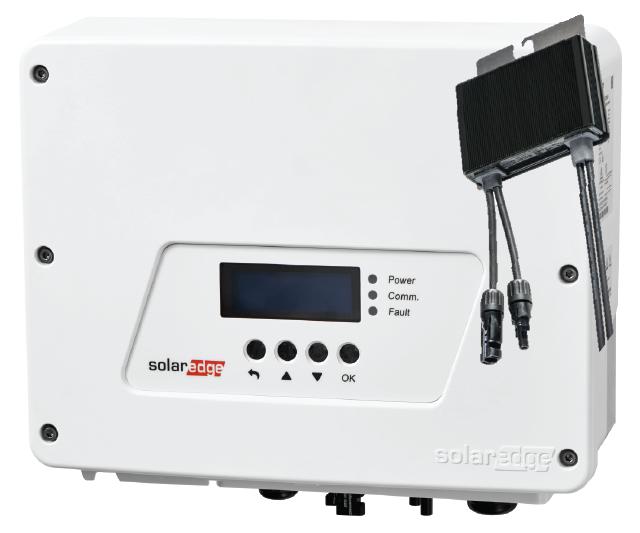 SolarEdge Inverter and Optimiser