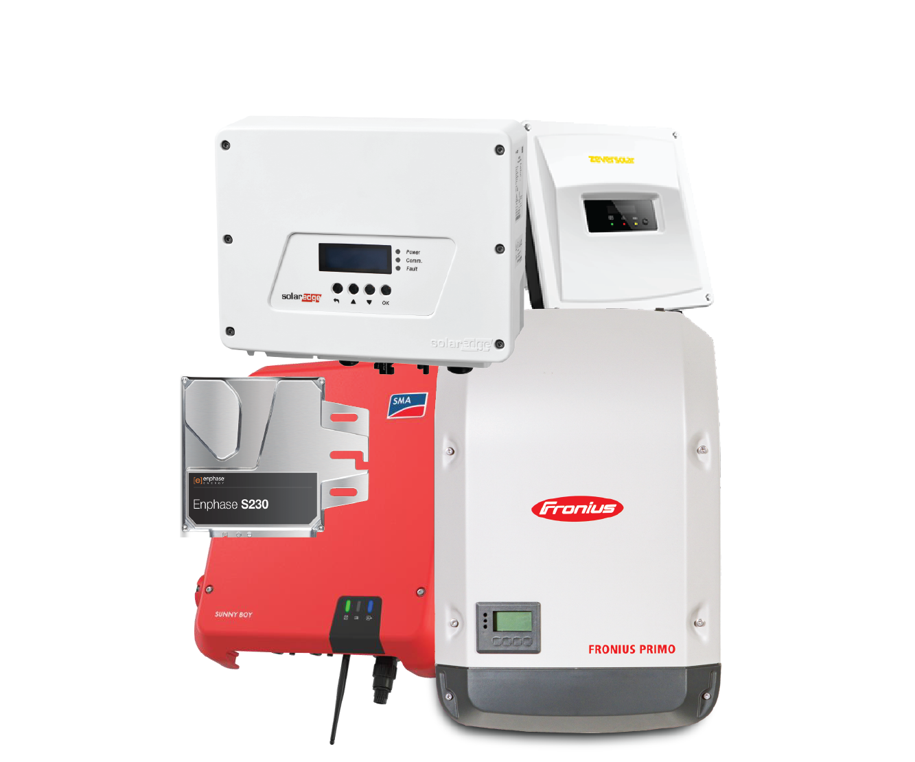 Click here for information on solar inverters