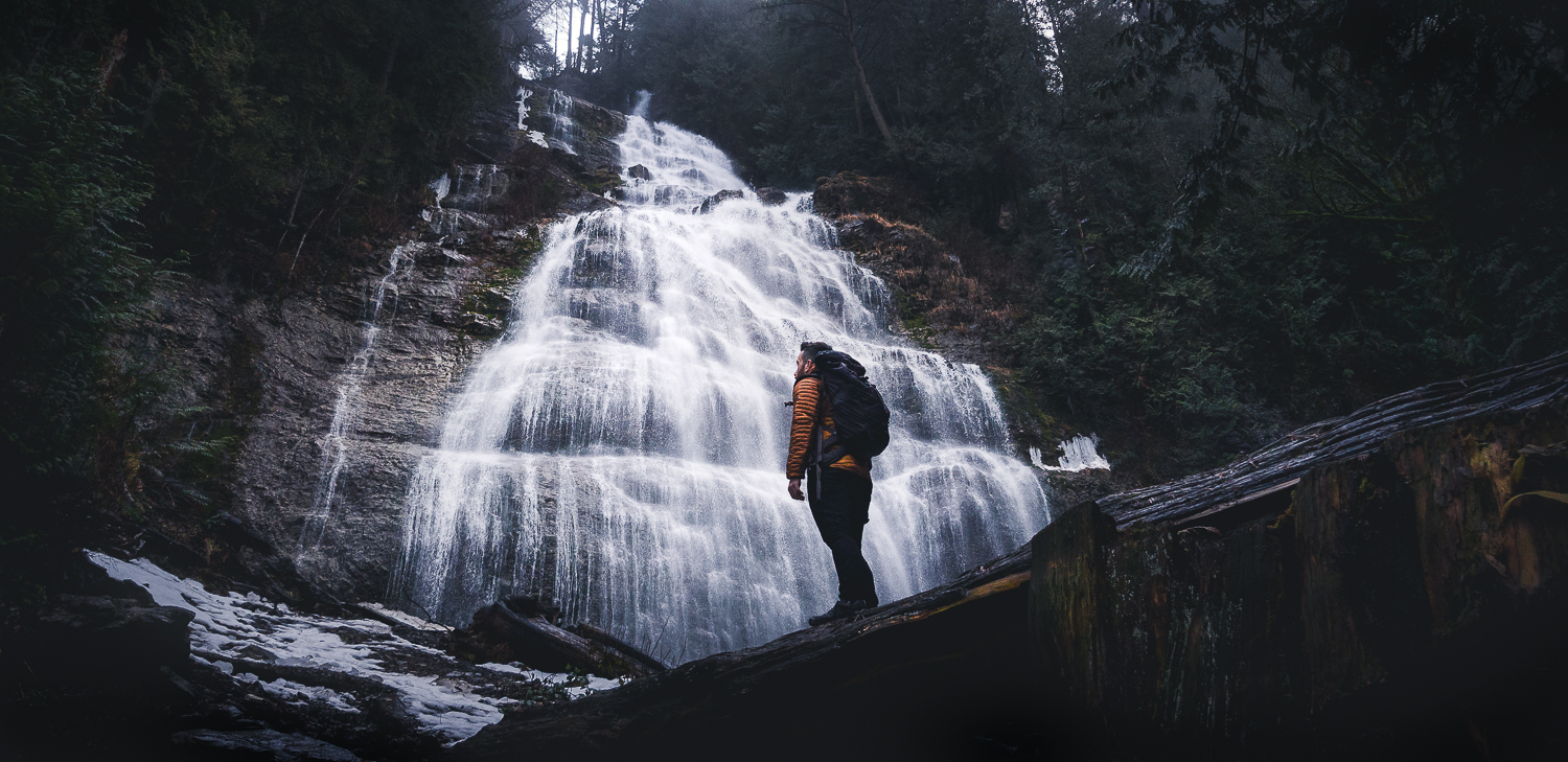 Unknown Falls, British Columbia - Captured in Pro Mode in RAW at F/1.7 | 1/350 Sec | ISO 50