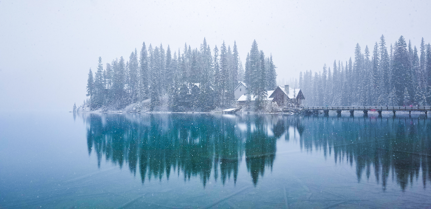 Emerald Lake, Yoho National Park, BC -  Captured in Auto as a JPEG File