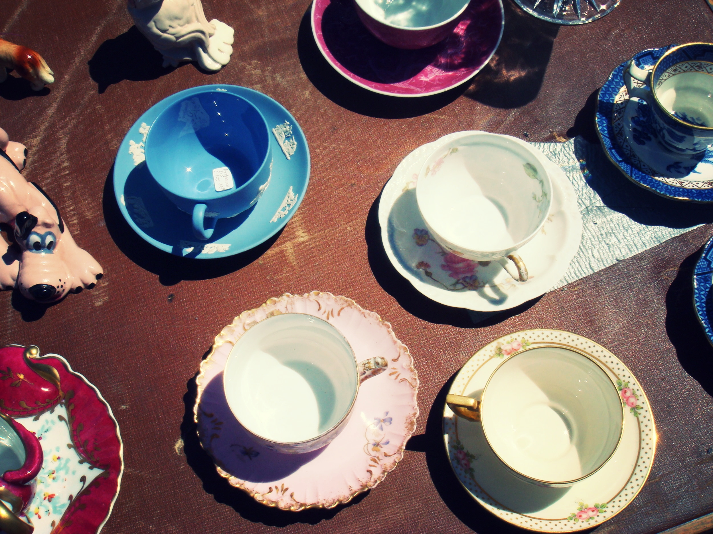Tea cups for sale, San Francisco