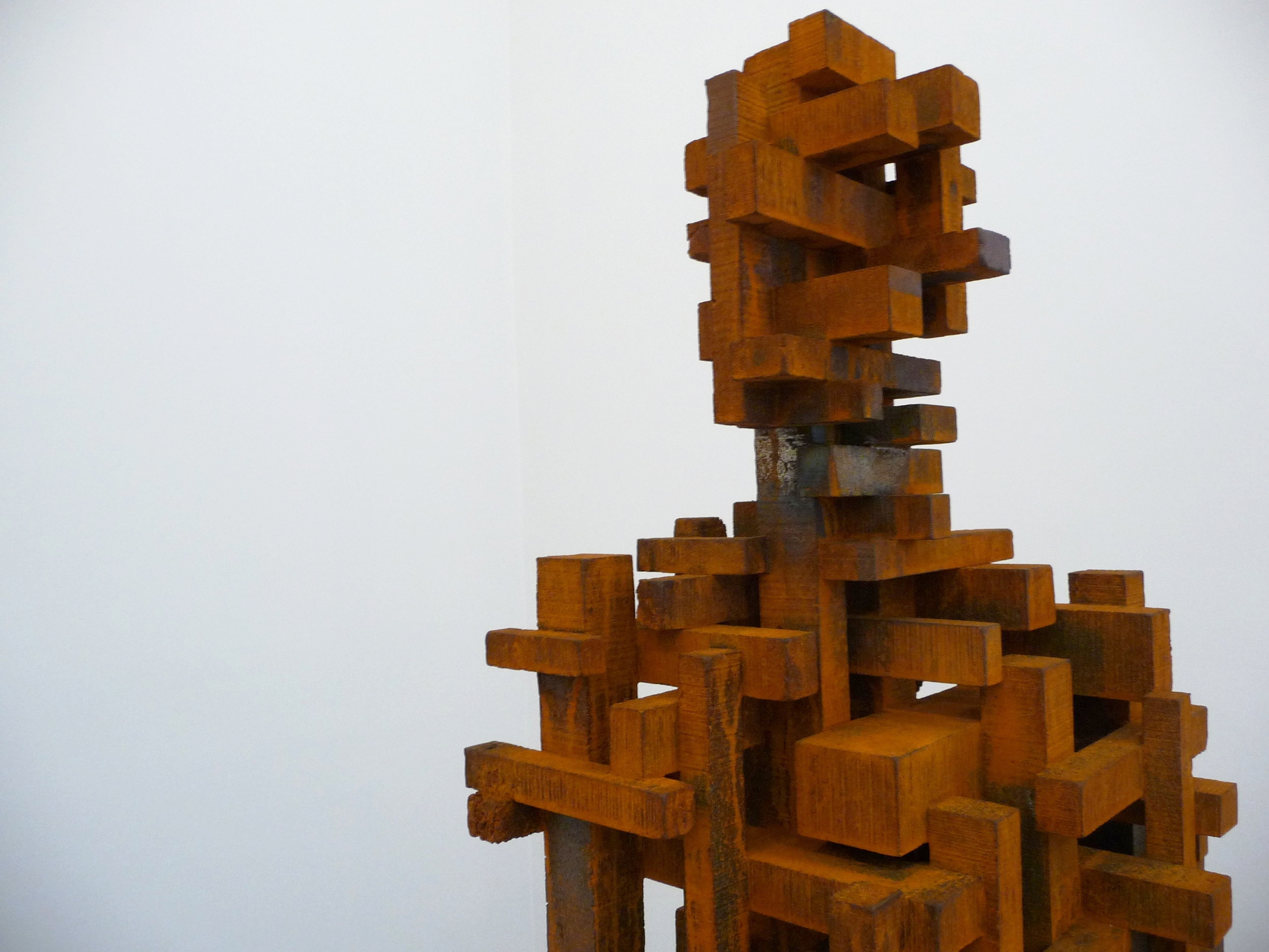 Anthony Gormley exhibition, NY