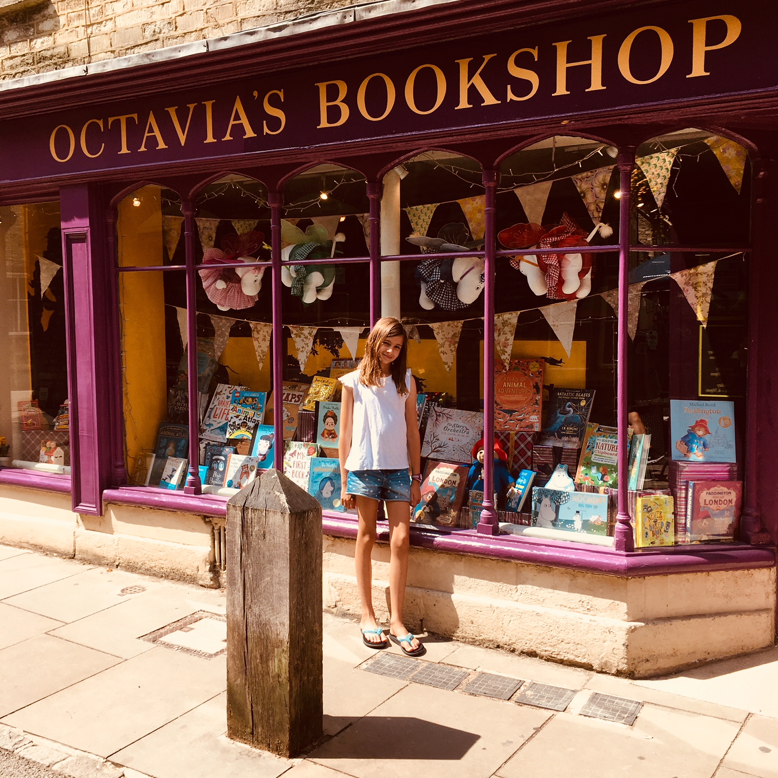 Octavia's Book shop, 24 Black Jack Street, Cirencester GL7 2AA