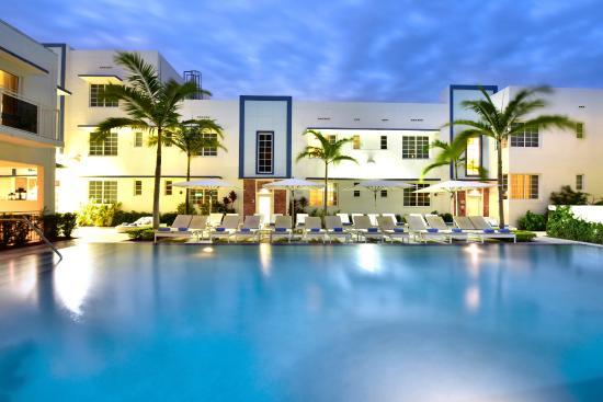 Pestana view of pool Super Bowl 2020 Miami